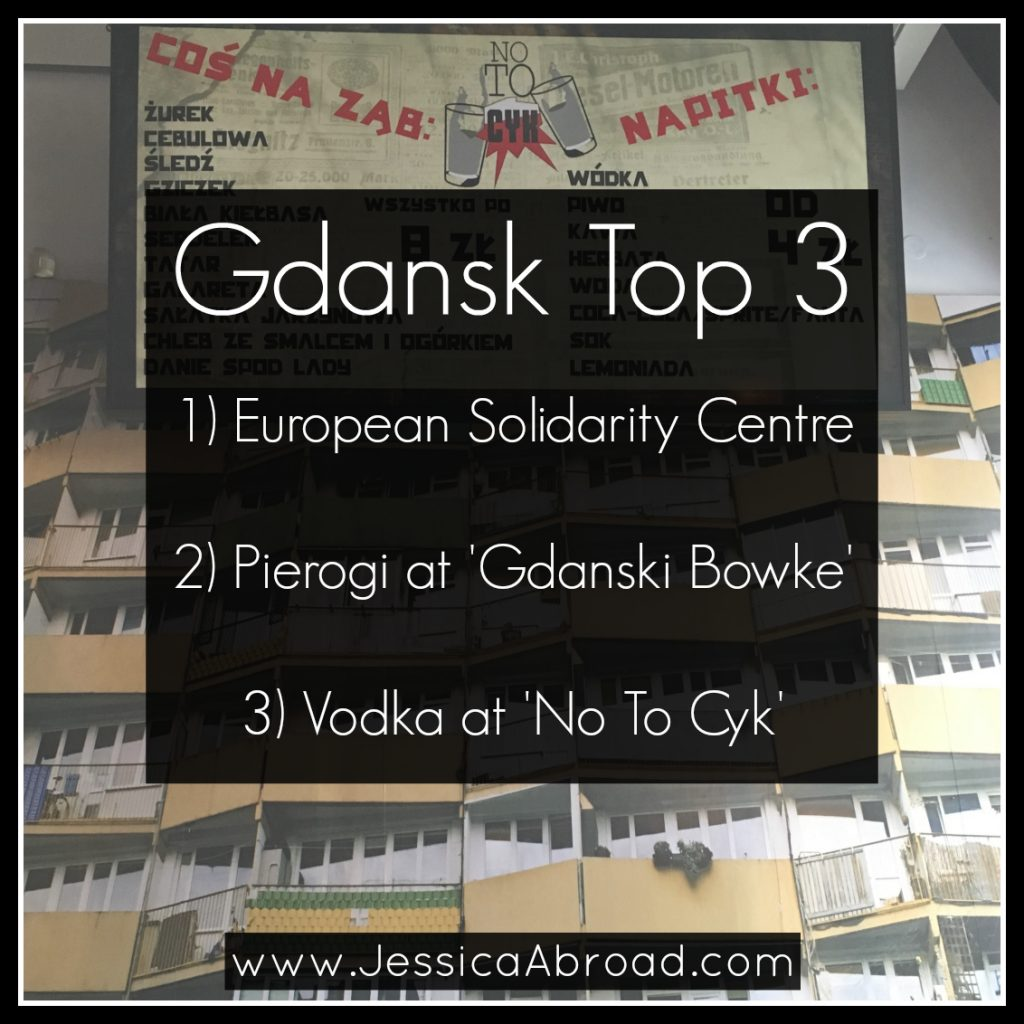 Top 3 things to do in Gdansk | Jessica Abroad